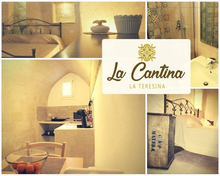 La Teresina Holiday Homes - La Cantina, location de vacances à Matera