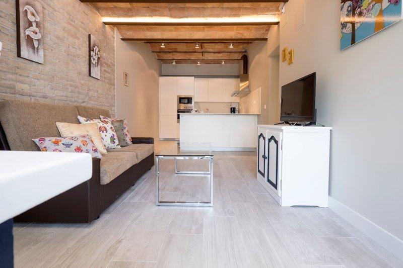 Bel Air, nuevo y en el centro de Sitges., alquiler vacacional en Sitges