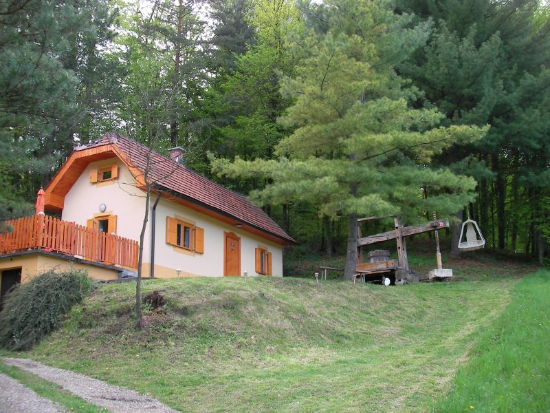 Ferienhaus in den Weinbergen, vacation rental in Marusevec