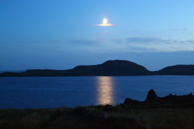 View to the Summer Isles from Achiltibuie