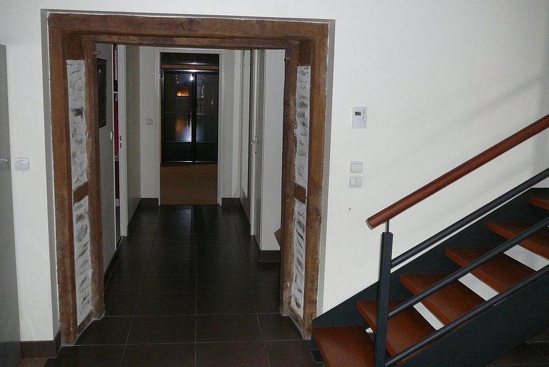 ground floor hallway