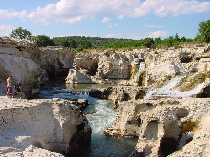 Cèze: Cascades Sautadet
