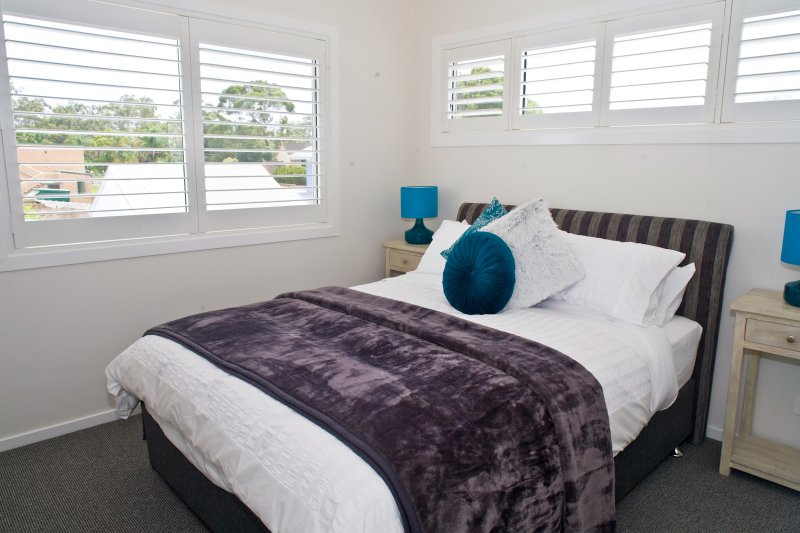 Una camera da letto, queen size