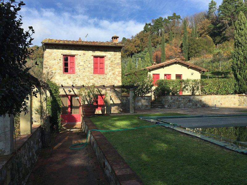 Villa Borbone Lucca, casa vacanza a San Macario in Monte