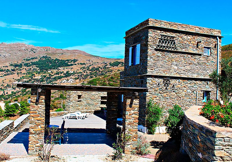 Andros- House Apollon, holiday rental in Gavrion