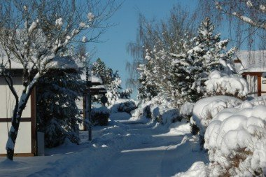 Holiday Village in winter