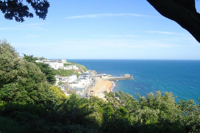 ¿El sur de Francia? No - es la bahía de Ventnor!