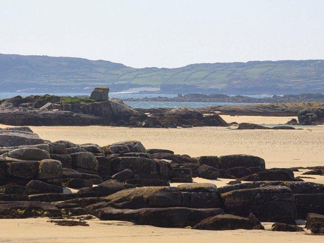 Playa cerca de la propiedad.