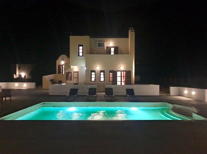Night Villa-View