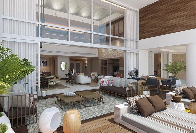 FABULOUS LIVING at Residence GRAND LUXXE LOFT 2BR Riviera Maya Cancun MarGan, vacation rental in Cancun