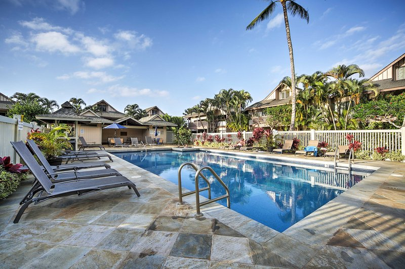 Experience the beauty of Kauai from this vacation rental studio condo!