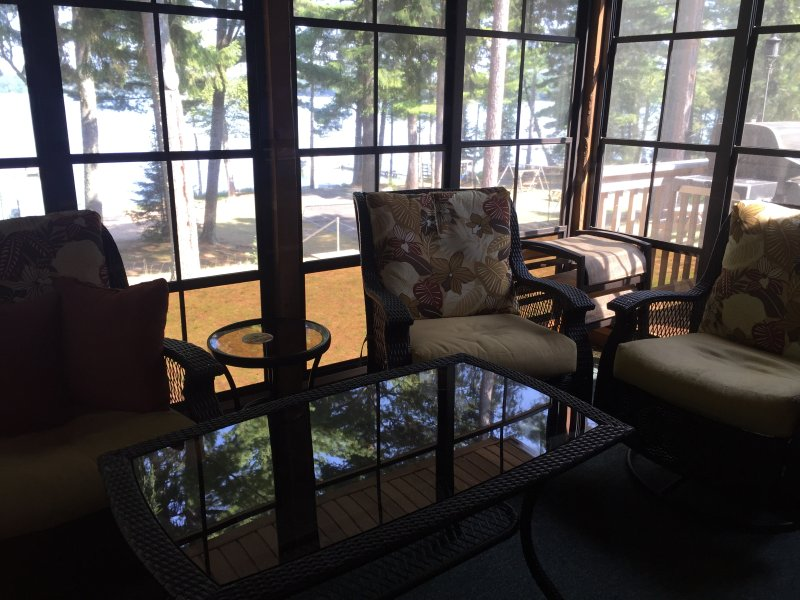 MUSKY SHORES AT LEISURE LODGE RESORT on Big St. Germain Lake, vacation rental in Sayner