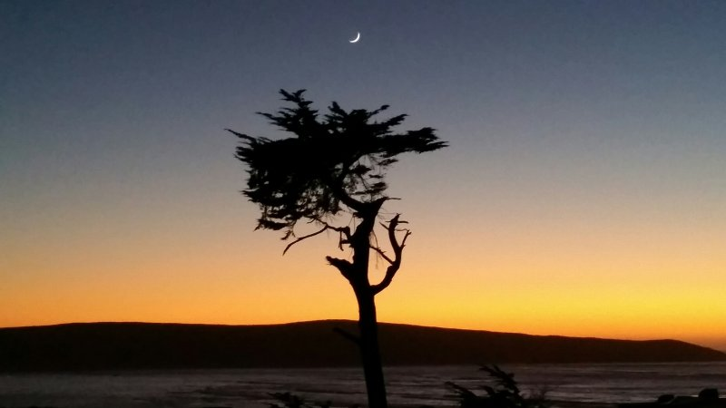 Watch the sun set over  Pt Reyes National Seashore and the Pacific  Ocean right from our deck.