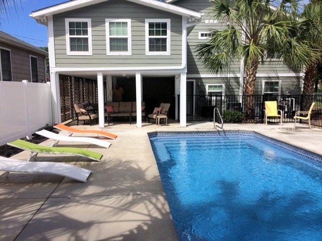 Building,Patio,Pool,Water,Furniture