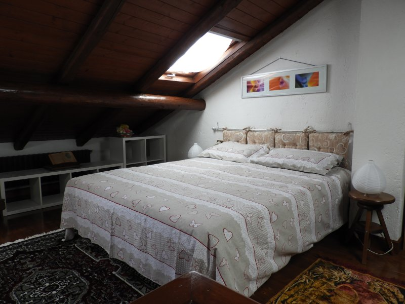 Lake Como View 2 p candy chalet apt. in ancient hamlet, vacation rental in Regoledo