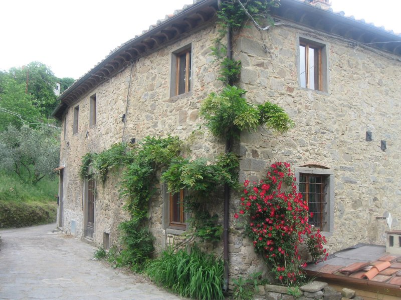 Beautiful old farm house in Tuscany,, vacation rental in Bagni di Lucca