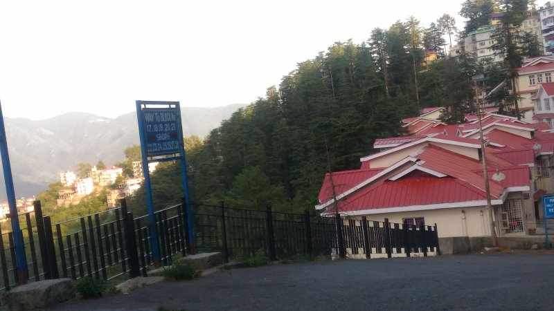 J.K. Villa in pine forest valley of Shimla, holiday rental in Shimla