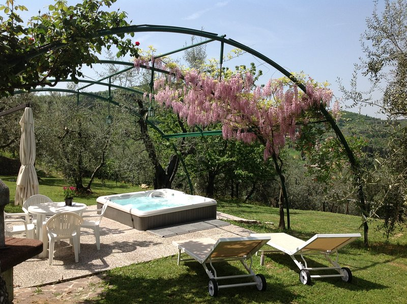 Apartment in typical tuscan farmhouse, vacation rental in Bagno a Ripoli