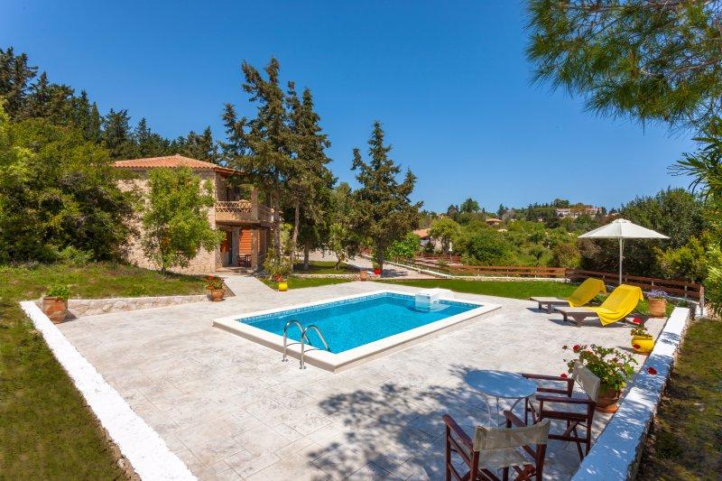 Liuba Houses - Agathi Maisonette with Private Pool, vacation rental in Ano Vasilikos