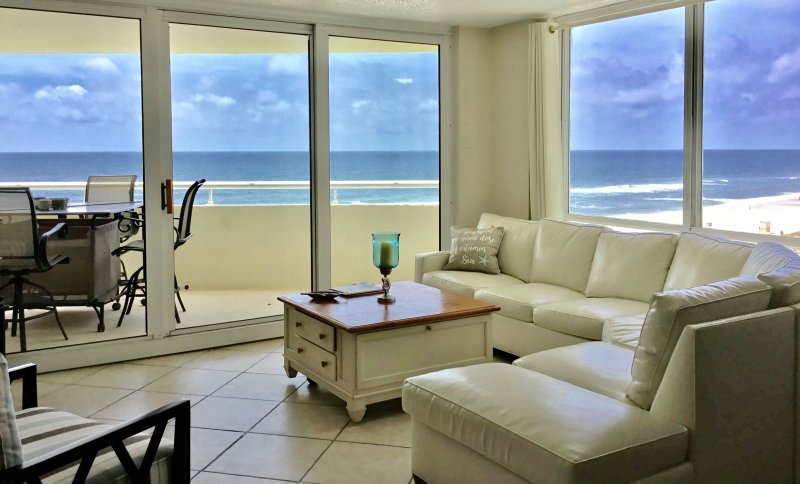 Breath taking panoramic views directly on the gulf! with Indoor  and Outdoor Pool, hot tub, plus.