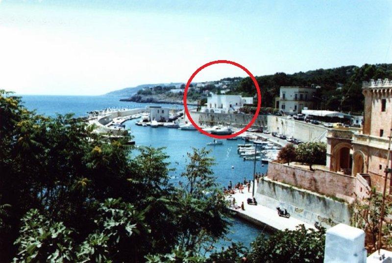 Bianca sul mare 2 posizione della casa sul mare
