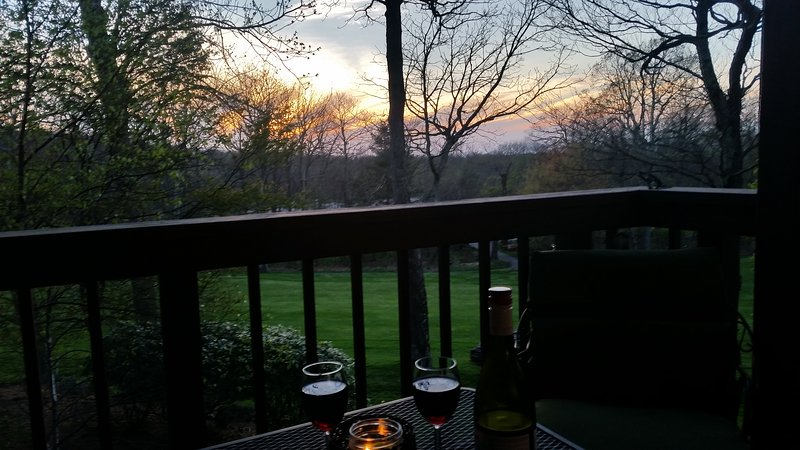 Relax and watch the sunset.