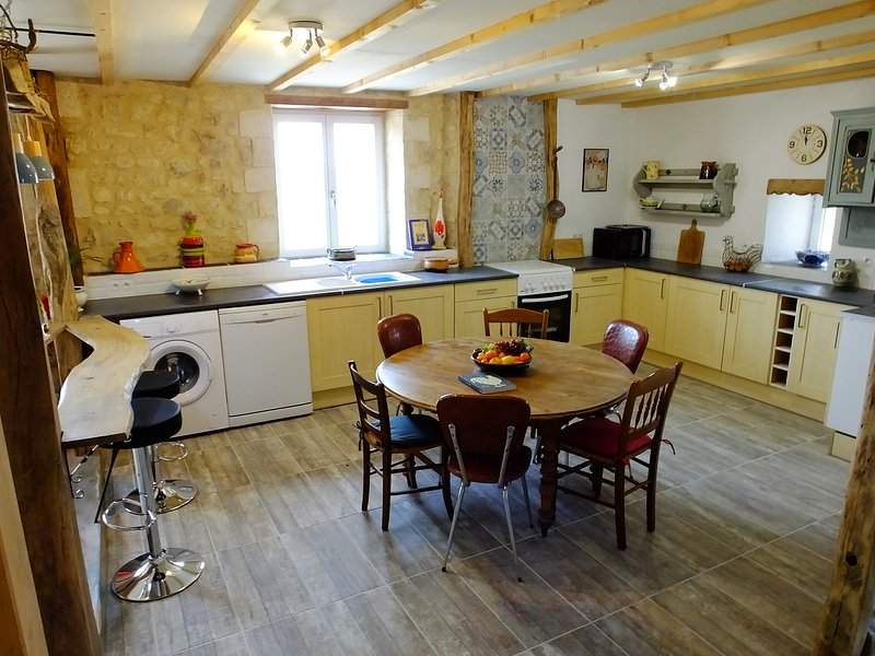 Fully fitted Dining kitchen.