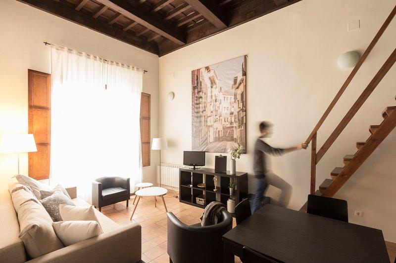 Loft en casa-patio del S.XVII. 3m Catedral., holiday rental in Puerto-Lopez