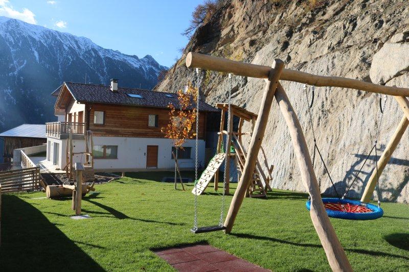 Casa de férias com parque infantil