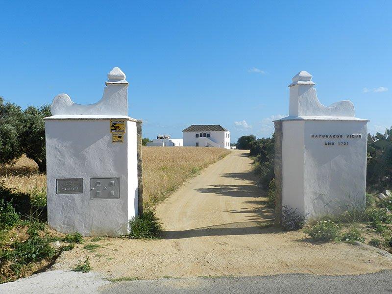 Entrance to the Finca.