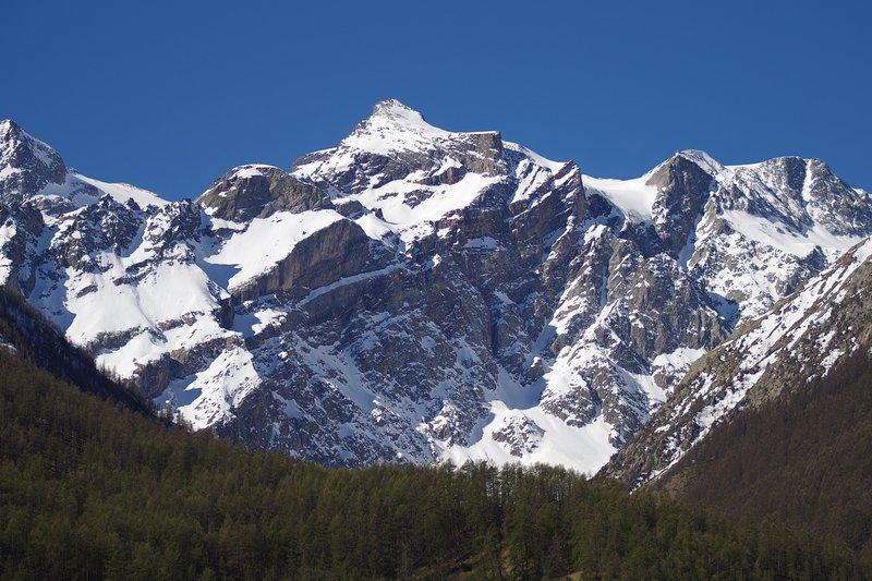 Balcone con vista sul ghiacciaio