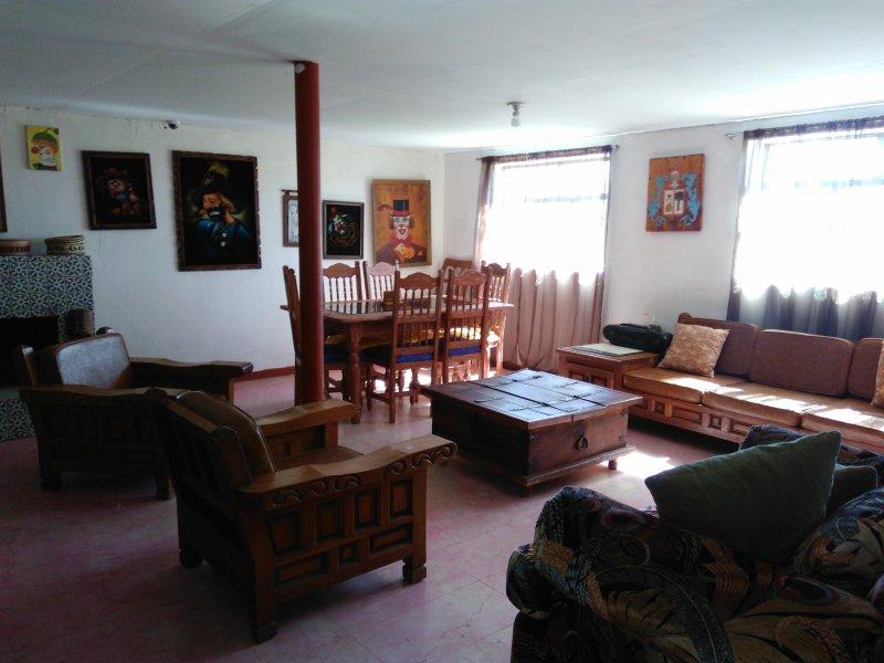 El Tascate Casa de Campo, holiday rental in Cuauhtemoc