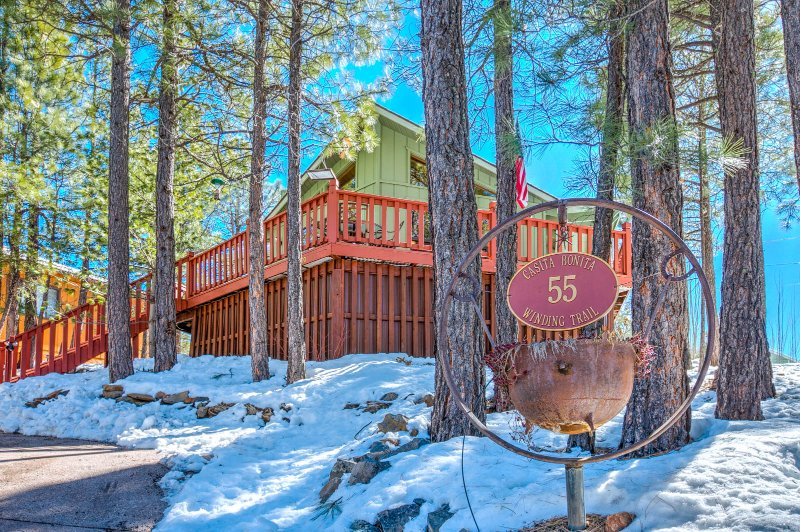 Casita Bonita, a romantic all season vacation home in Northern Arizona