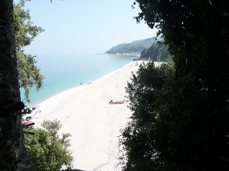Explore secret parts of Horefto beach