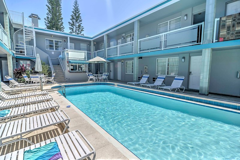 Start your days of vacation with a swim in the heated community pool!
