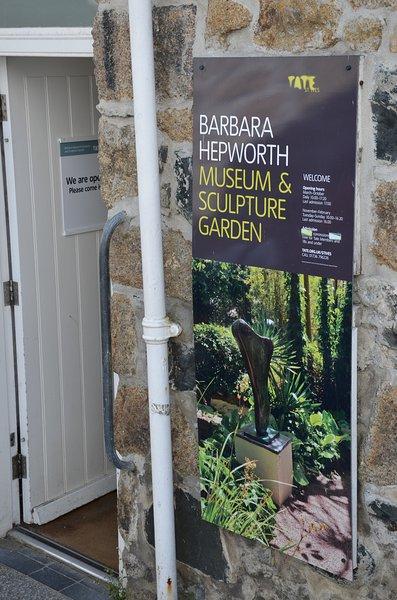 El Hepworth Museo Barbara se encuentra a 5 minutos a pie de Porth Casa