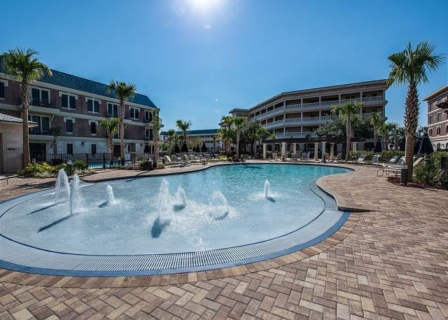 Area della piscina