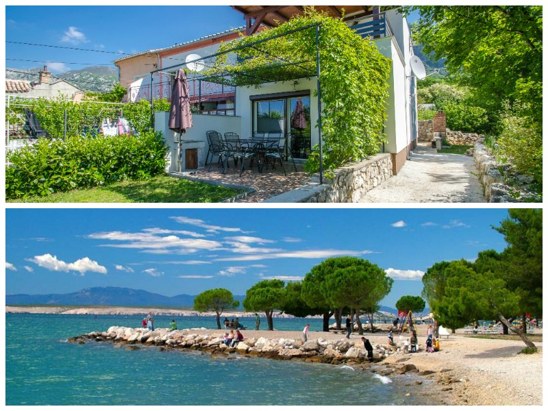 Summerhouse/Crikvenica beach