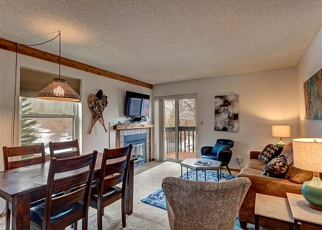 Mountainside Living Area Frisco Lodging Vacation Rentals