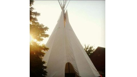 Authentic tipi