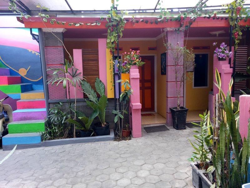 Balkon / teras kamar