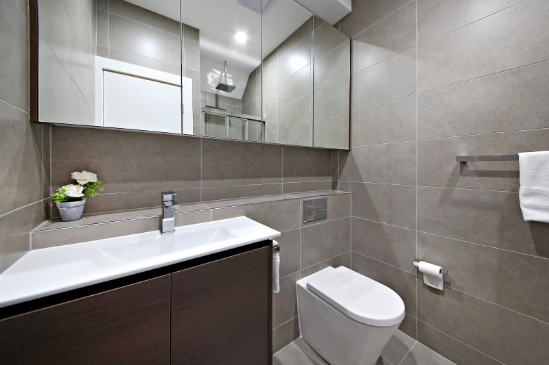Un baño en la suite