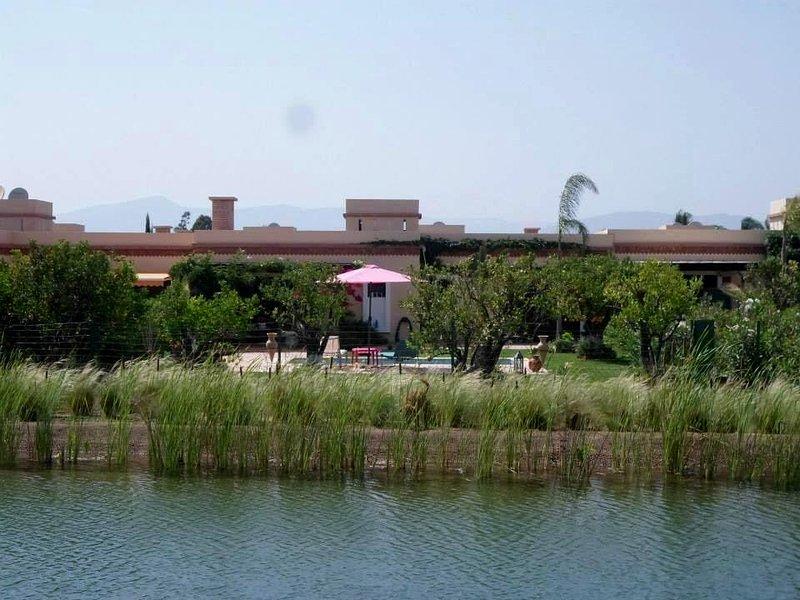 (133) LA DETENTE TOTALE FACE AU LAC, holiday rental in Agadir