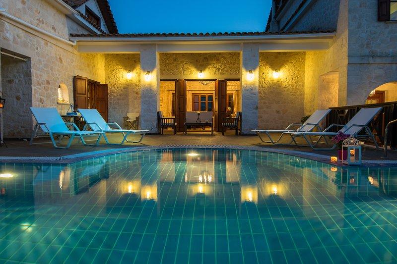 Lilas Luxury Villa, location de vacances à Kyllini