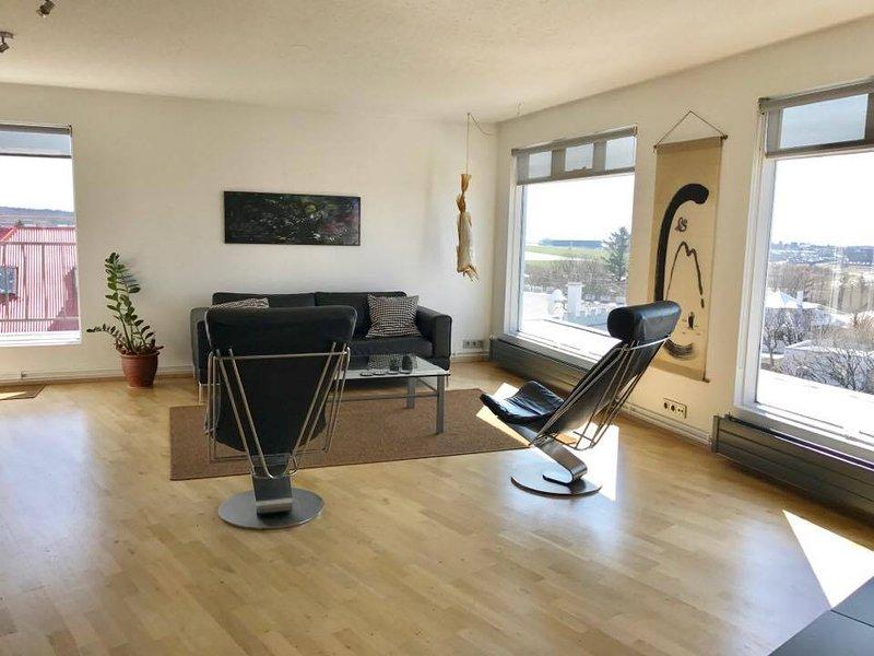 Penthouse  apartment with a great view, aluguéis de temporada em Reykjavik