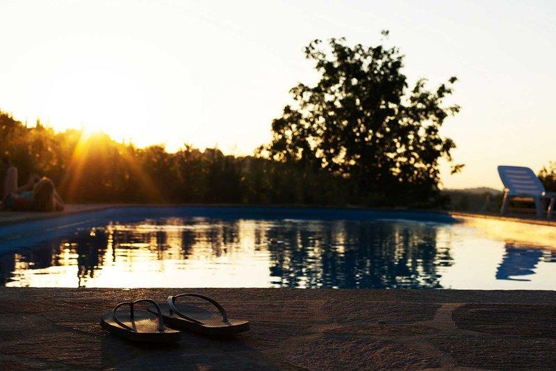 Residenza Ca d'Masseu - junto a la piscina