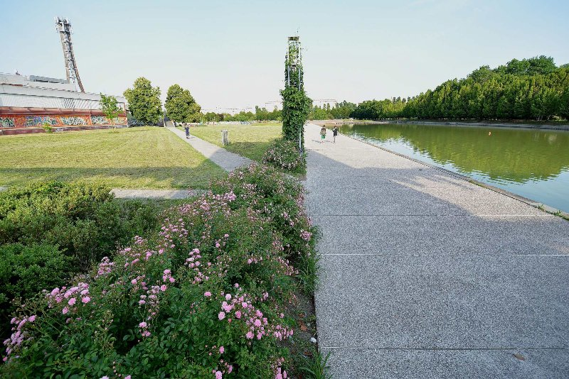 Bissuola Park: jogging and cycling, just around the corner
