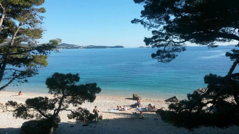 Strijezica beach