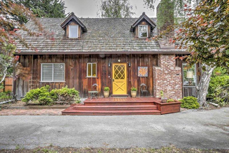 Cette maison Aptos est équipée de tout ce dont vous aurez besoin pour vos vacances!