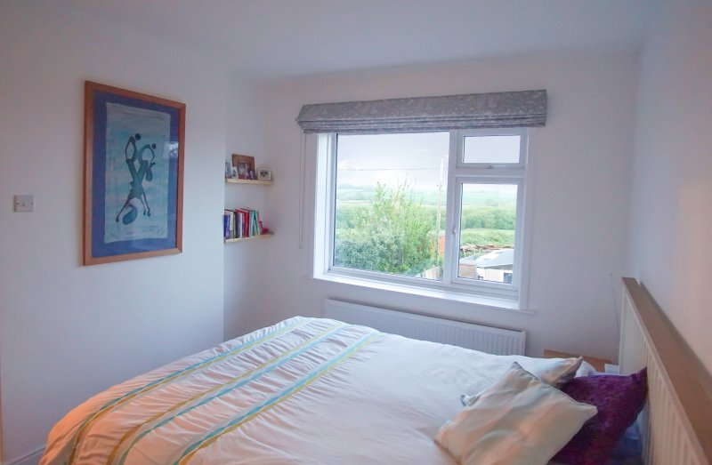 Main double bedroom - ensuite and countryside views